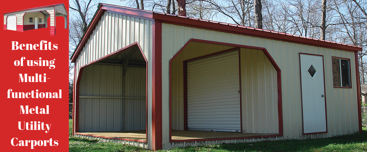 Benefits of using Multifunctional Metal Utility Carports