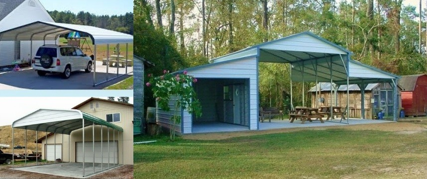 Best Metal Shelters And Car Canopies For Outdoor Storage