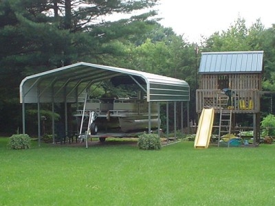 Carport | Regular Roof | 18W x 26L x 8H` | 2 Panels