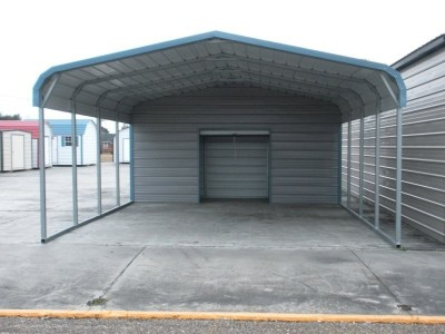 Carport | Regular Roof Roof | 18W x 26L x 7H Utility Carport