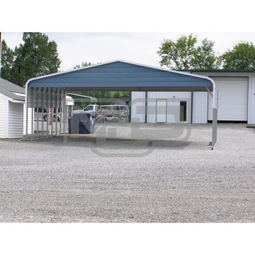 Carport | Regular Roof | 30W x 31L x 8H | Triple-Wide