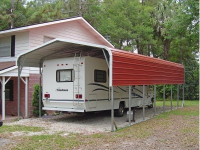 Carport | Regular Roof | 12W x 36L x 8H` | RV Carport Covers