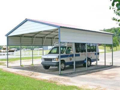 Carport | Vertical Roof | 22W x 26L x 9H