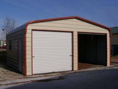 Garage | Regular Roof | W x L x H` | 2-Car Garage