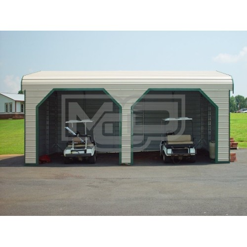 Garage | Regular Roof | 22W x 26L x 9H |  2-Car Side Entry Garage
