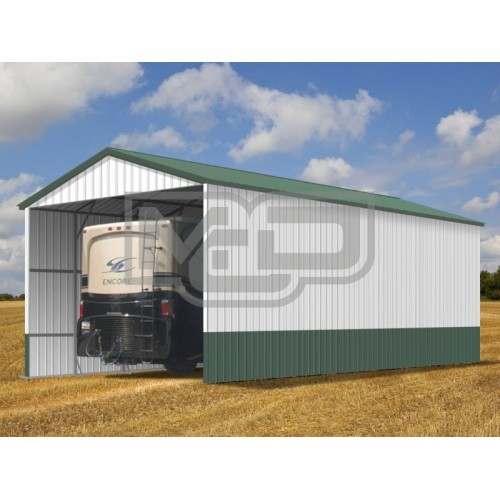 Carport | Vertical Roof | 12W x 31L x 12H RV Port