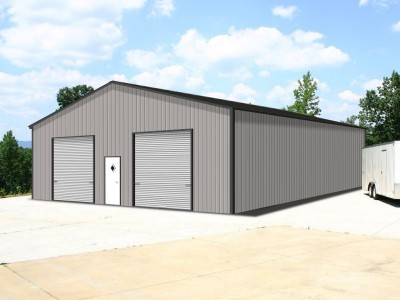 Engineered Metal Building | Vertical Roof | 36W x 40L x 12H | Steel Buildings