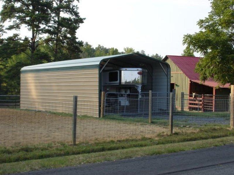 Carport Regular Roof 16w X 31l X 9h