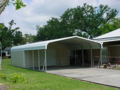 Carport | Regular Roof Roof | 20W x 31L x 6H Utility Carport
