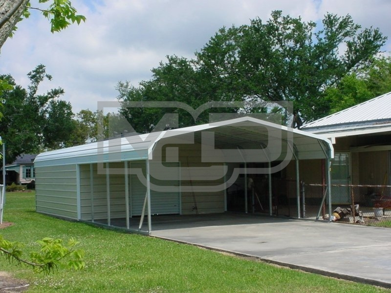 Carport | Regular Roof | 20W x 31L x 6H Utility Carport