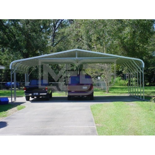 Carport | Regular Roof | 30W x 26L x 8H | Triple Wide