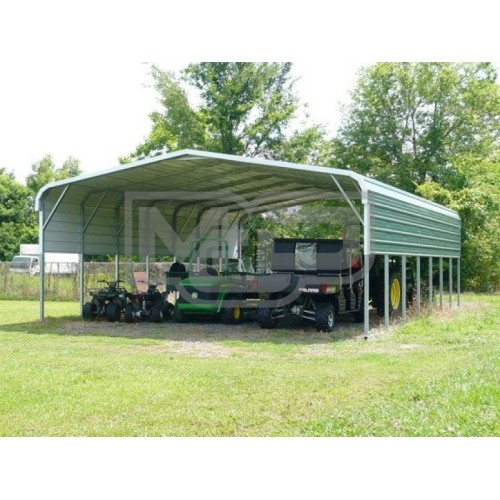 Carport | Regular Roof | 24W x 36L x 8H` | 2 Panels