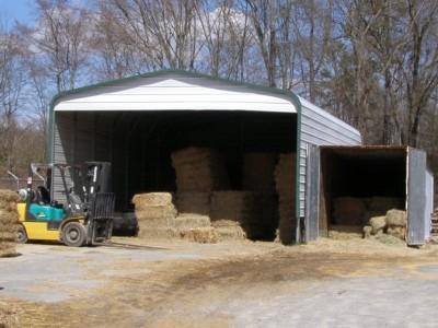 Carport | Regular Roof | 22W x 31L x 10H | AG Shelter