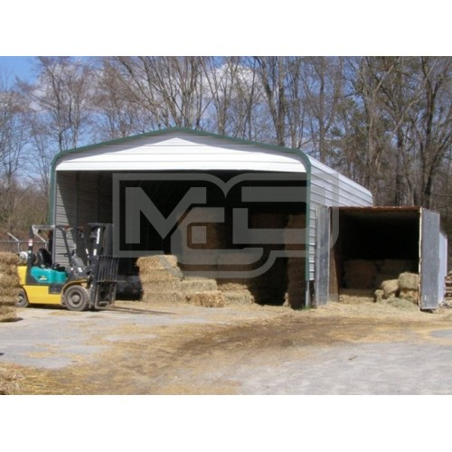 Carport | Regular Roof | 22W x 31L x 10H | AG Shelter