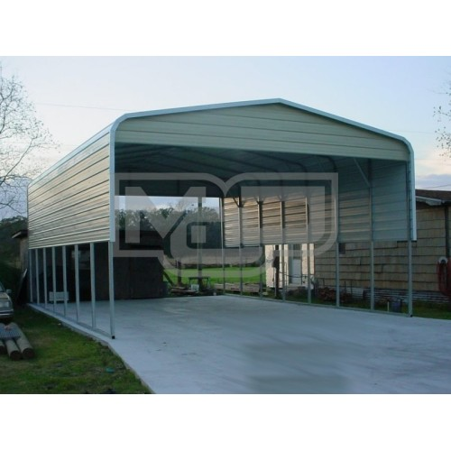 Carport | Regular Roof | 22W x 36L x 11H` | 4 Panels | 2 Gables