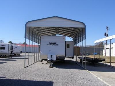 Carport | Regular Roof | 18W x 36L x 12H | 2 Panels | 1 Gable
