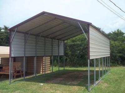 Metal Carports Custom Metal Garages Rv Carport Shelters Barns