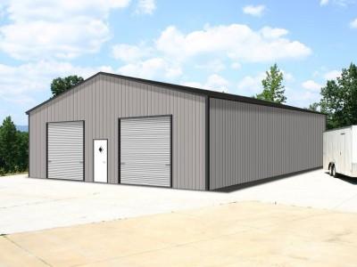 Engineered Metal Building | Vertical Roof | 36W x 40L x 12H | Steel Buildings